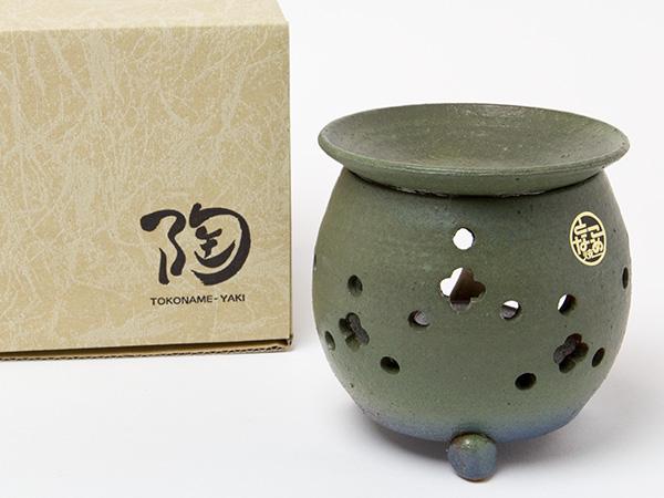 茶香炉 青緑 エ1216お茶のふじい 藤井茶舗 新着 迅速な対応で商品をお届け致します