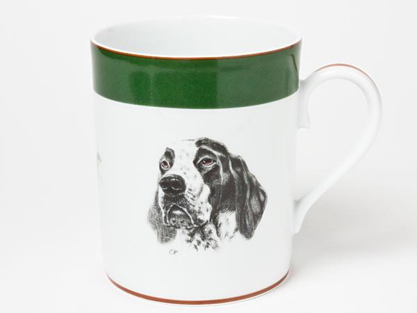 エルメス ジャーマンポインター犬・キジ マグカップ hermes-11お茶のふじい・藤井茶舗