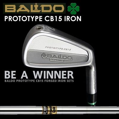 【カスタムモデル】BALDO PROTOTYPE CB15 IRON Dynemic Goldバルド プロトタイプ CB15 アイアン ダイナミックゴールド7本セット(#4~PW)