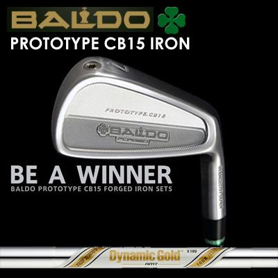 【カスタムモデル】BALDO PROTOTYPE CB15 IRON Dynamic Gold AMT Tour Issueバルド プロトタイプ CB15 アイアン ダイナミックゴールド AMT ツアーイシュー7本セット(#4~PW)