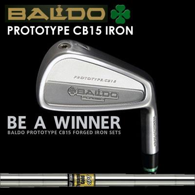 【カスタムモデル】BALDO PROTOTYPE CB15 IRON Dynamic Gold CPTバルド プロトタイプ CB15 アイアン ダイナミックゴールド CPT7本セット(#4~PW)