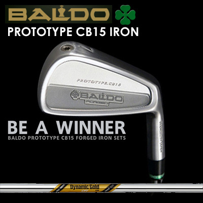 【カスタムモデル】BALDO PROTOTYPE CB15 IRON Dynamic Gold CPT Tour Issueバルド プロトタイプ CB15 アイアン ダイナミックゴールド CPT ツアーイシュー7本セット(#4~PW)