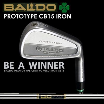 【カスタムモデル】BALDO PROTOTYPE CB15 IRON DG PROバルド プロトタイプ CB15 アイアン DGプロ7本セット(#4~PW)