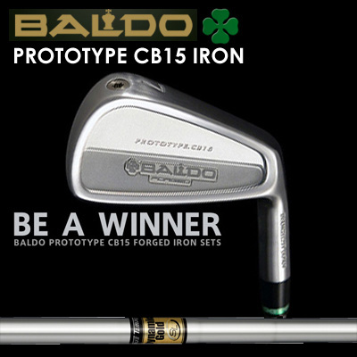 【カスタムモデル】BALDO PROTOTYPE CB15 IRON Dynamic Gold SLバルド プロトタイプ CB15 アイアン ダイナミックゴールド SL7本セット(#4~PW)
