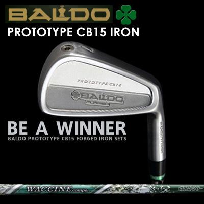 【カスタムモデル】BALDO PROTOTYPE CB15 IRON WACCINE COMPO GR-350 Ironバルド プロトタイプ CB15 アイアン ワクチンコンポ GR-350 アイアン7本セット(#4~PW)
