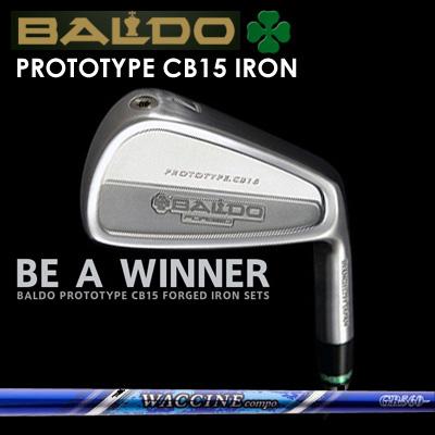 【カスタムモデル】BALDO PROTOTYPE CB15 IRON WACCINE COMPO GR-560 Ironバルド プロトタイプ CB15 アイアン ワクチンコンポ GR-560 アイアン7本セット(#4~PW)