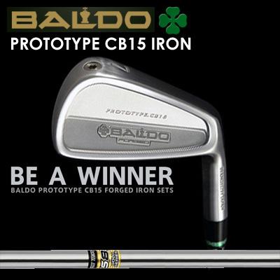 【カスタムモデル】BALDO PROTOTYPE CB15 IRON GS85バルド プロトタイプ CB15 アイアン GS857本セット(#4~PW)