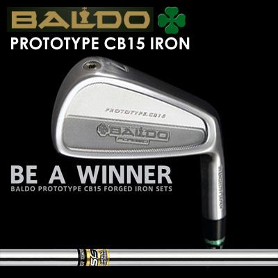 【カスタムモデル】BALDO PROTOTYPE CB15 IRON GS95バルド プロトタイプ CB15 アイアン GS957本セット(#4~PW)