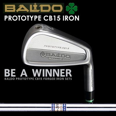 【カスタムモデル】BALDO PROTOTYPE CB15 IRON K'S 2001αバルド プロトタイプ CB15 アイアン K'S 2001α7本セット(#4~PW)