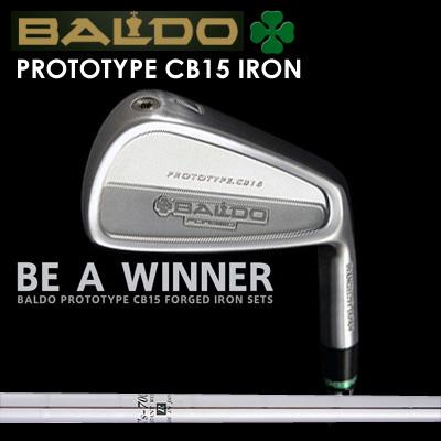 【カスタムモデル】BALDO PROTOTYPE CB15 IRON K'S 7001バルド プロトタイプ CB15 アイアン K'S 70017本セット(#4~PW)