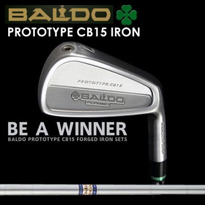 【カスタムモデル】BALDO PROTOTYPE CB15 IRON K'S AC-10バルド プロトタイプ CB15 アイアン K'S AC-107本セット(#4~PW)