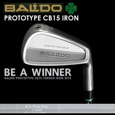 【カスタムモデル】BALDO PROTOTYPE CB15 IRON K'S TOUR Lightバルド プロトタイプ CB15 アイアン K'Sツアー ライト7本セット(#4~PW)