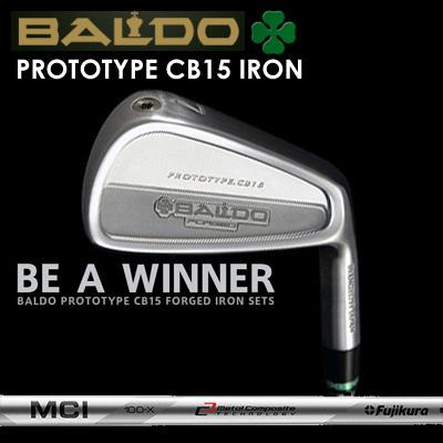 【カスタムモデル】BALDO PROTOTYPE CB15 IRON MCI 90-110バルド プロトタイプ CB15 アイアン MCI 90-1107本セット(#4~PW)