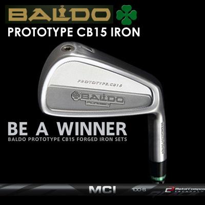【カスタムモデル】BALDO PROTOTYPE CB15 IRON MCI BLACKバルド プロトタイプ CB15 アイアン MCI ブラック7本セット(#4~PW)