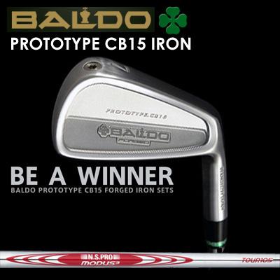 【カスタムモデル】BALDO PROTOTYPE CB15 IRON N.S.PRO MODUS3 TOUR105バルド プロトタイプ CB15 アイアン NSプロ モーダス3 ツアー1057本セット(#4~PW)