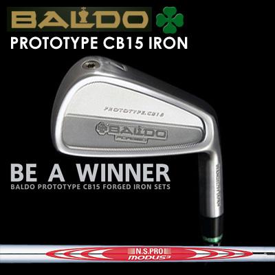 【カスタムモデル】BALDO PROTOTYPE CB15 IRON N.S.PRO MODUS3 TOUR120バルド プロトタイプ CB15 アイアン NSプロ モーダス3 ツアー1207本セット(#4~PW)