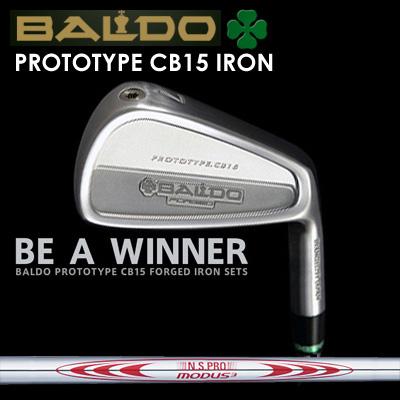 【カスタムモデル】BALDO PROTOTYPE CB15 IRON N.S.PRO MODUS3 TOUR130バルド プロトタイプ CB15 アイアン NSプロ モーダス3 ツアー1307本セット(#4~PW)
