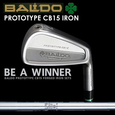 【カスタムモデル】BALDO PROTOTYPE CB15 IRON N.S.PRO 1150GH TOURバルド プロトタイプ CB15 アイアン NSプロ 1150GH ツアー7本セット(#4~PW)