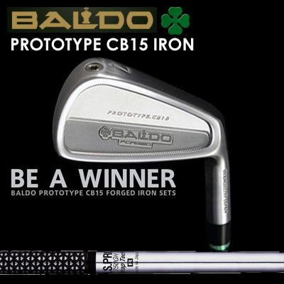 【カスタムモデル】BALDO PROTOTYPE CB15 IRON N.S.PRO 750GHバルド プロトタイプ CB15 アイアン NSプロ 750GH7本セット(#4~PW)