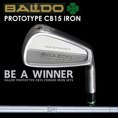 【カスタムモデル】BALDO PROTOTYPE CB15 IRON N.S.PRO 950GHバルド プロトタイプ CB15 アイアン NSプロ 950GH7本セット(#4~PW)