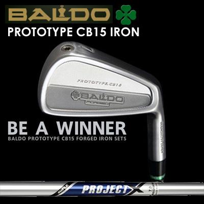 【カスタムモデル】BALDO PROTOTYPE CB15 IRON PROJECT Xバルド プロトタイプ CB15 アイアン プロジェクトX7本セット(#4~PW)
