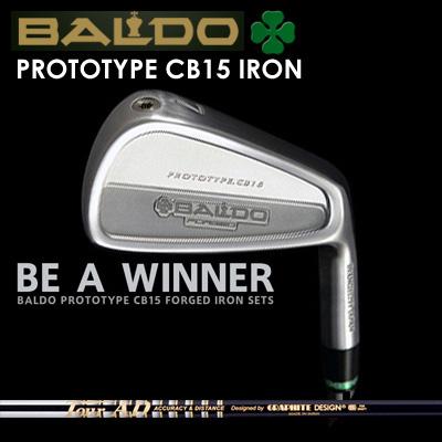 【カスタムモデル】BALDO PROTOTYPE CB15 IRON TOUR AD 105/115バルド プロトタイプ CB15 アイアン ツアーAD アイアン 105/1157本セット(#4~PW)