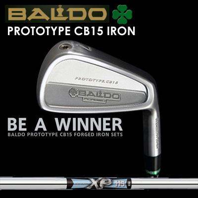 【カスタムモデル】BALDO PROTOTYPE CB15 IRON XP115バルド プロトタイプ CB15 アイアン XP1157本セット(#4~PW)