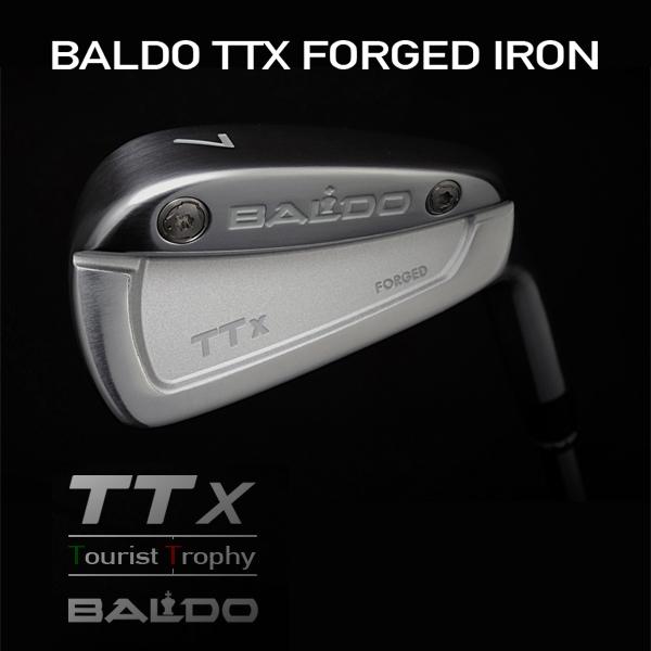 バルド TTX フォージド アイアン ヘッド6個セット(#5-Pw)BALDO TTX FORGED IRON HEAD Sets(#5-Pw)【リシャフト・グリップ・工賃込・往復送料無料】