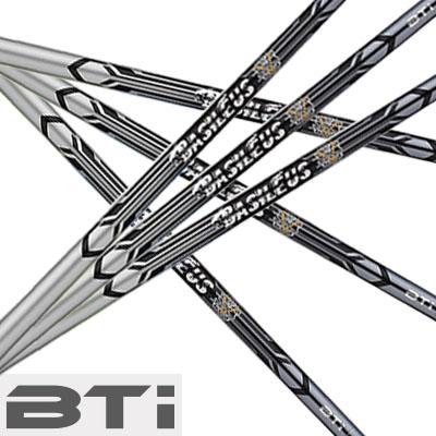 BASILEUS BTi iron shaftバシレウス ビーティーアイ アイアン シャフト6本セット(#5~#9、PW)【リシャフト・工賃込・往復送料無料】