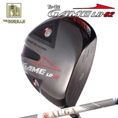 【カスタムモデル】GORILLA GOLF To-Be Game LD-02 DRIVER AUGAゴリラゴルフ トゥービー ゲーム LC-02 ドライバー オウガ