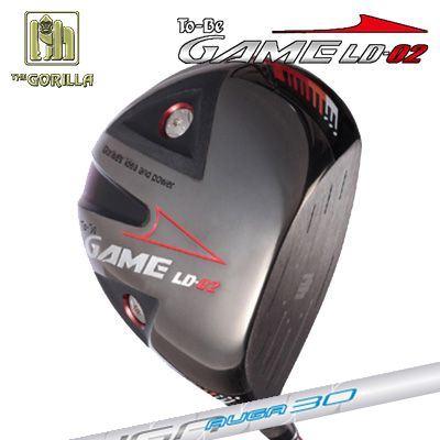 【カスタムモデル】GORILLA GOLF To-Be Game LD-02 DRIVER AUGA30ゴリラゴルフ トゥービー ゲーム LC-02 ドライバー オウガ30