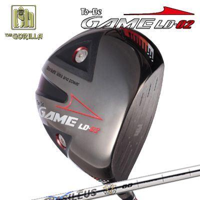 【カスタムモデル】GORILLA GOLF To-Be Game LD-02 DRIVER BASIREUS Aゴリラゴルフ トゥービー ゲーム LC-02 ドライバー バシレウス アルファ