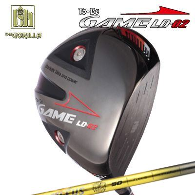 【カスタムモデル】GORILLA GOLF To-Be Game LD-02 DRIVER BASILEUS Dゴリラゴルフ トゥービー ゲーム LC-02 ドライバー バシレウス デルタ
