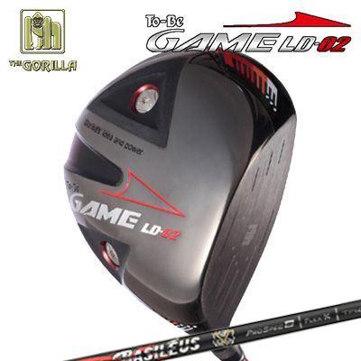 【カスタムモデル】GORILLA GOLF To-Be Game LD-02 DRIVER BASILEUS PRO SPEC Bゴリラゴルフ トゥービー ゲーム LC-02 ドライバー バシレウス プロスペック ベータ