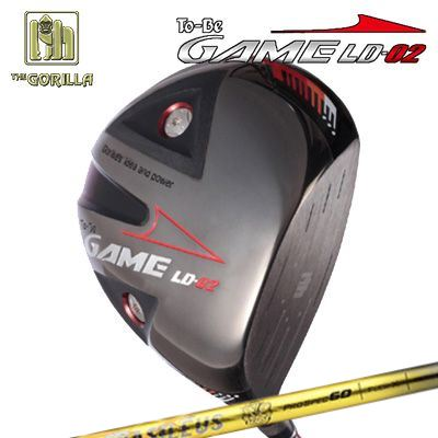 【カスタムモデル】GORILLA GOLF To-Be Game LD-02 DRIVER BASILEUS PRO SPEC Dゴリラゴルフ トゥービー ゲーム LC-02 ドライバー バシレウス プロスペック デルタ