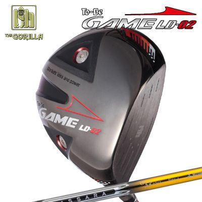 【カスタムモデル】GORILLA GOLF To-Be Game LD-02 DRIVER BASSARA GGゴリラゴルフ トゥービー ゲーム LC-02 ドライバー バサラ GG