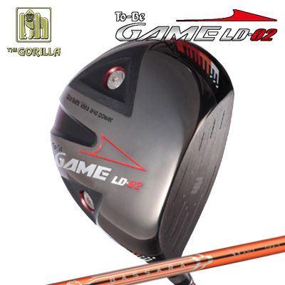 【カスタムモデル】GORILLA GOLF To-Be Game LD-02 DRIVER BASSARA Pゴリラゴルフ トゥービー ゲーム LC-02 ドライバー バサラ P