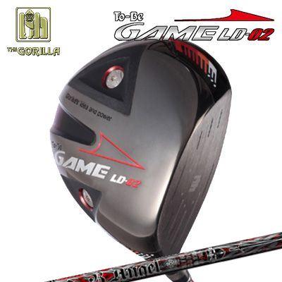 【カスタムモデル】GORILLA GOLF To-Be Game LD-02 DRIVER Burning Angelゴリラゴルフ トゥービー ゲーム LC-02 ドライバー バーニングエンジェル