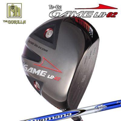 【カスタムモデル】GORILLA GOLF To-Be Game LD-02 DRIVER DIAMANA Bゴリラゴルフ トゥービー ゲーム LC-02 ドライバー ディアマナ B