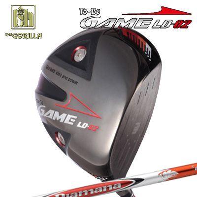 【カスタムモデル】GORILLA GOLF To-Be Game LD-02 DRIVER DIAMANA Rゴリラゴルフ トゥービー ゲーム LC-02 ドライバー ディアマナ R