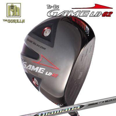 【カスタムモデル】GORILLA GOLF To-Be Game LD-02 DRIVER DIAMANA ZFゴリラゴルフ トゥービー ゲーム LC-02 ドライバー ディアマナ ZF