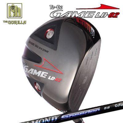 【カスタムモデル】GORILLA GOLF To-Be Game LD-02 DRIVER DIAMOND SPEEDERゴリラゴルフ トゥービー ゲーム LC-02 ドライバー ダイヤモンド スピーダー