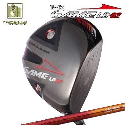 【カスタムモデル】GORILLA GOLF To-Be Game LD-02 DRIVER Fire Express LIGHT45ゴリラゴルフ トゥービー ゲーム LC-02 ドライバー ファイアーエクスプレス ライト45