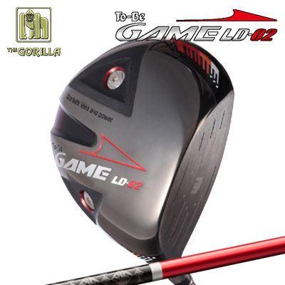 【カスタムモデル】GORILLA GOLF To-Be Game LD-02 DRIVER WAXCCNE CONPO GR-230ゴリラゴルフ トゥービー ゲーム LC-02 ドライバー ワクチンコンポ GR-230