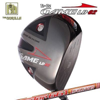 【カスタムモデル】GORILLA GOLF To-Be Game LD-02 DRIVER SPEEDER EVOLUTION 2ゴリラゴルフ トゥービー ゲーム LC-02 ドライバー スピーダー エボリューション 2