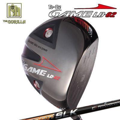 【カスタムモデル】GORILLA GOLF To-Be Game LD-02 DRIVER SPEEDER SLKゴリラゴルフ トゥービー ゲーム LC-02 ドライバー スピーダー SLK