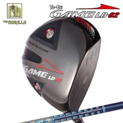 【カスタムモデル】GORILLA GOLF To-Be Game LD-02 DRIVER TOUR AD BBゴリラゴルフ トゥービー ゲーム LC-02 ドライバー ツアーAD BB
