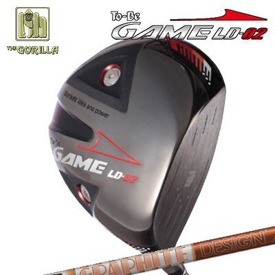 【カスタムモデル】GORILLA GOLF To-Be Game LD-02 DRIVER TOUR AD DIゴリラゴルフ トゥービー ゲーム LC-02 ドライバー ツアーAD DI