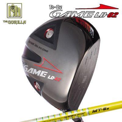 【カスタムモデル】GORILLA GOLF To-Be Game LD-02 DRIVER TOUR AD MTゴリラゴルフ トゥービー ゲーム LC-02 ドライバー ツアーAD MT