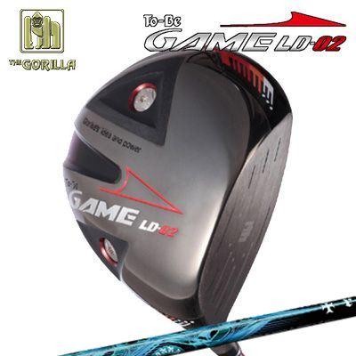 【カスタムモデル】GORILLA GOLF To-Be Game LD-02 DRIVER TRPX Auraゴリラゴルフ トゥービー ゲーム LC-02 ドライバー トリプルエックス アウラ